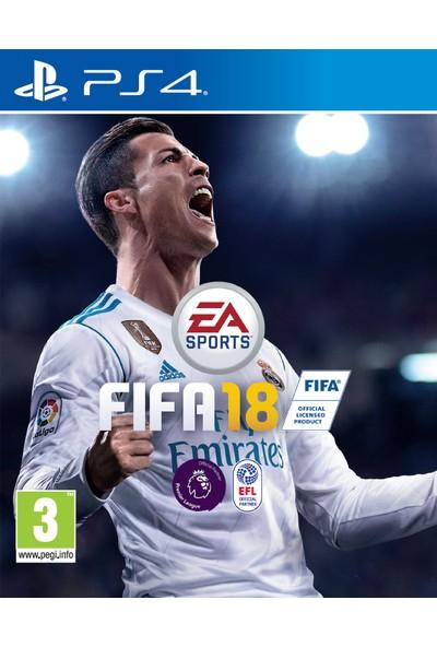 FIFA 18 PS4 Oyun-Türkçe menü
