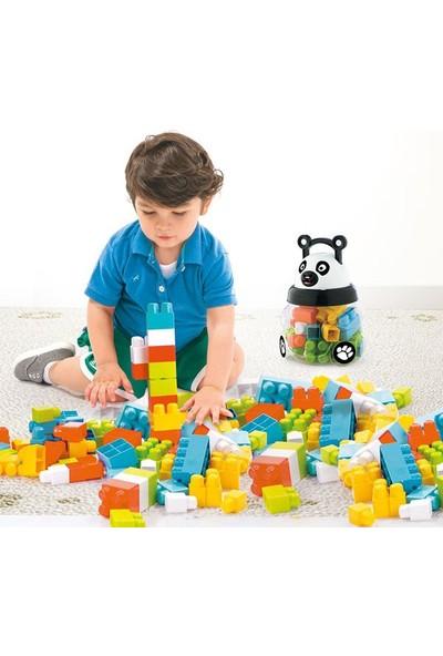 Dolu Oyuncak 5170 Kutulu Panda Büyük Bloklar 18 Parça