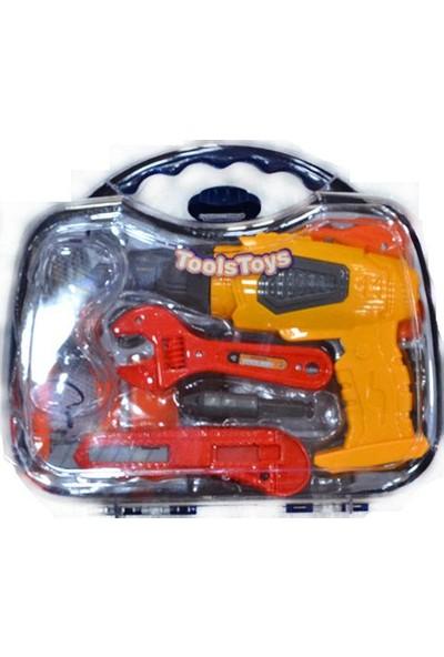 Erkol Oyuncak 36778 - 63 Çantalı Tamir Seti - Tools Toys +3 Yaş