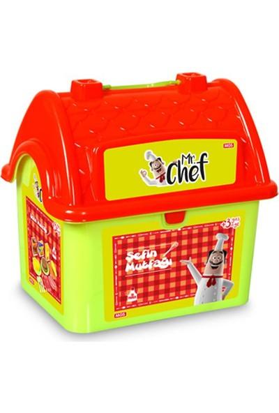 Mgs Oyuncak 5619 Chef Çanta Ev