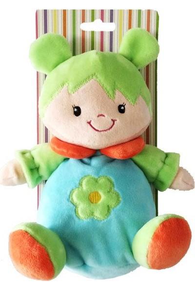 Vardem Oyuncak Çingıraklı Pelüş Bebek 50154Pa