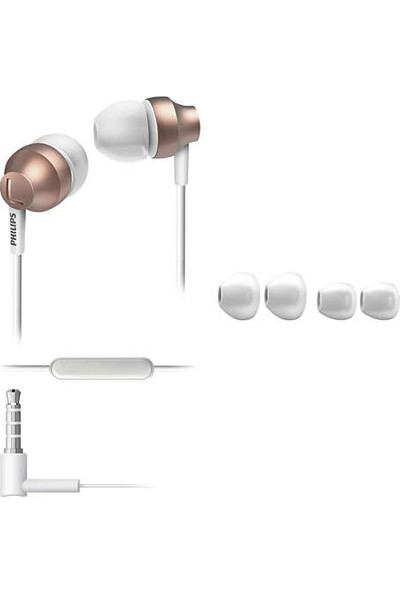 Philips She3855Rg/00 Chromz Mikrofonlu Kulak İçi Kulaklık