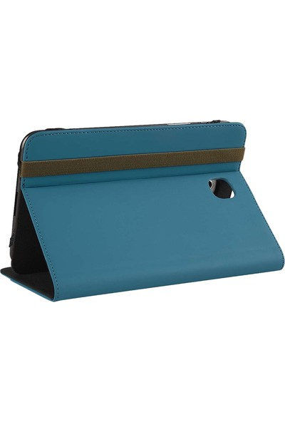 Targus Thz44402Eu Folio Stand Samsung Tab4 Mavi