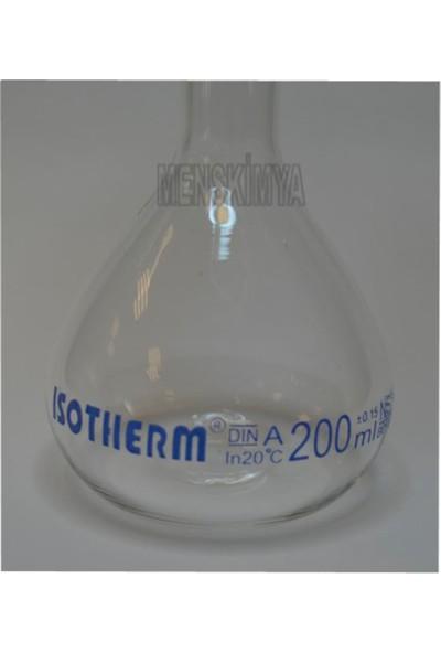 Isotherm Balon Joje Cam Pp Kapaklı Ns 14/23 200 Ml