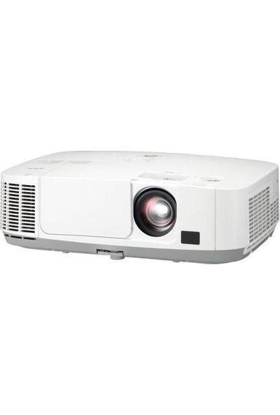 Nec P401W 4000 ANSI lümen 1280x800 WXGA LCD Projeksiyon Cihazı