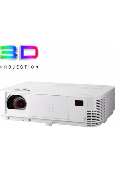 Nec M323W 3200 ANSI lümen 1280x800 WXGA 3D DLP Projeksiyon Cihazı