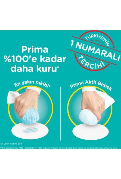 Prima Bebek Bezi Aktif Bebek Süper Ekonomik Paket 4 Beden 60 Adet