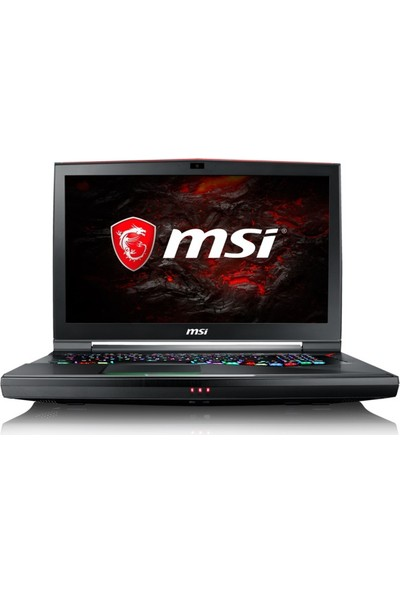 "MSI GT75VR 7RF(Titan Pro)-078TR Intel Core i7 7700HQ 32GB 1TB + 256GB SSD GTX1080 Windows 10 Home 17.3"" FHD Taşınabilir Bilgisayar"