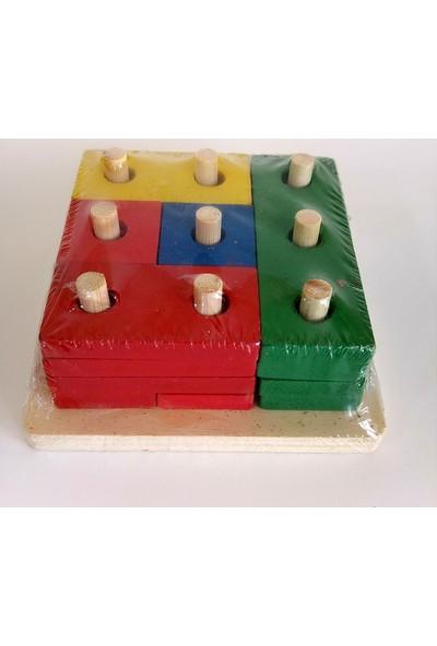 Hdm Zeka Oyunu Ahşap Eğitici Oyuncak Bultak Lego