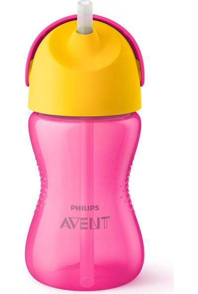 Philips Avent Desenli Pipetli Bardak 300 ml - Pembe