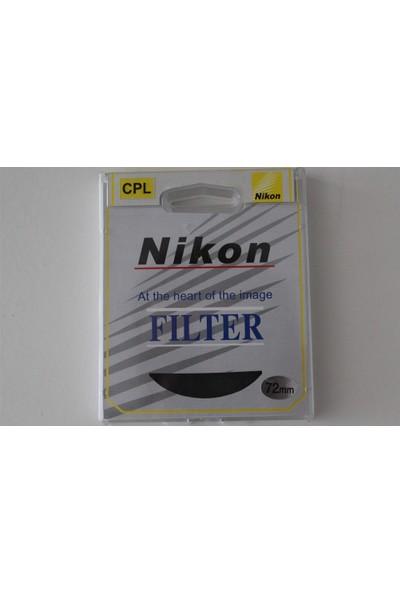 Nikon 180Mm Lens İçin 72Mm Polarize Filtre