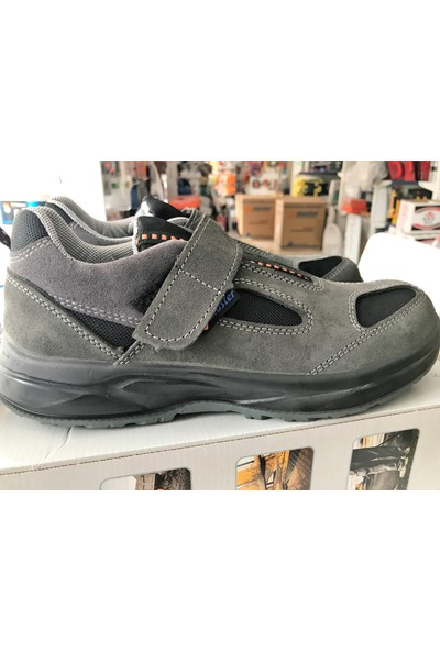 Master Çelik Burunlu Süet Deri Yazlık S1 İş Güvenlik Ayakkabısı