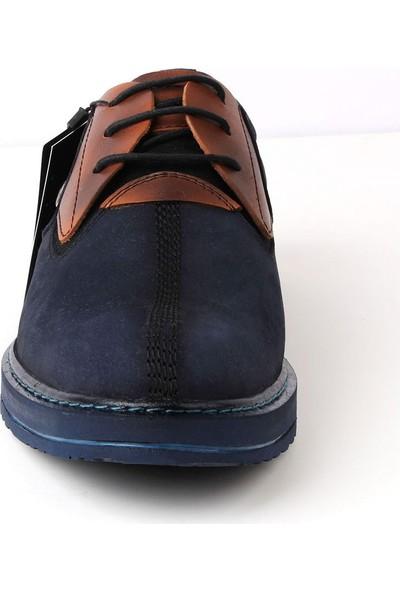 Bay Pablo F40-02 Erkek Ayakkabı Kemer Çorap 3'lü Set