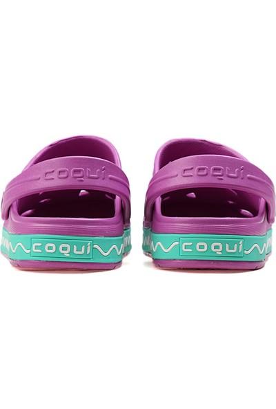 Coqui Çok Renkli Çocuk Terlik 8801 Froggy