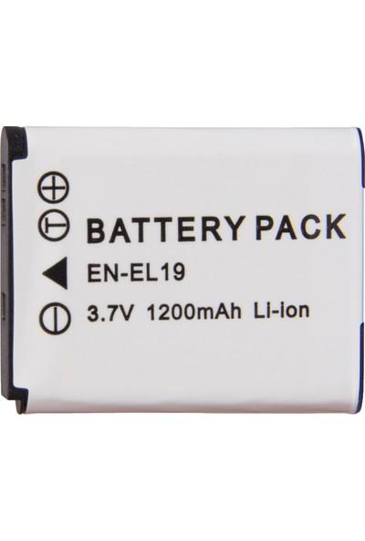 Nikon İçin EN-EL19 ENEL19 Batarya