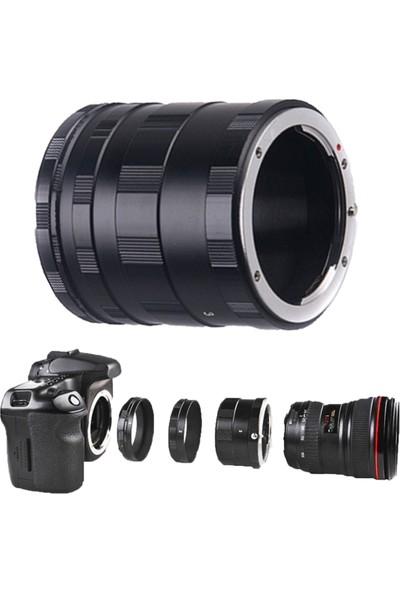 Haskan Canon Dslr Fotoğraf Makinesi İçin Makro Uzatma Tüpü