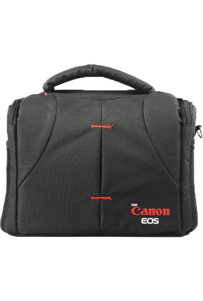 Canon Dslr Fotoğraf Makineleri İçin Profesyonel Set Çanta