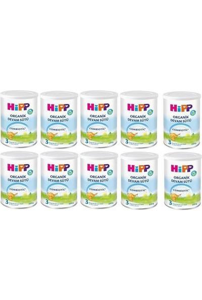 Hipp 3 Organik Combiotic Devam Sütü 350 gr - 10'lu