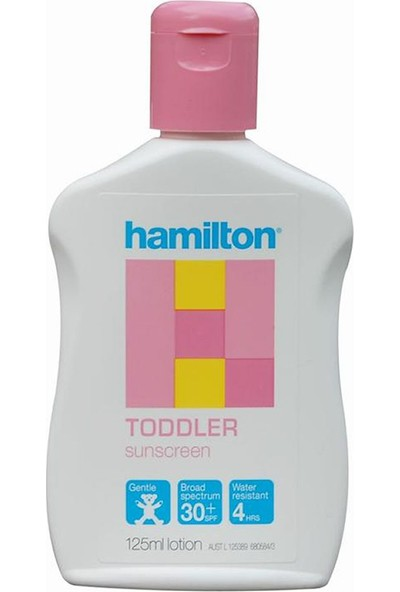 Hamilton Toddler Çocuk Losyonu Spf 50 + 125 Ml