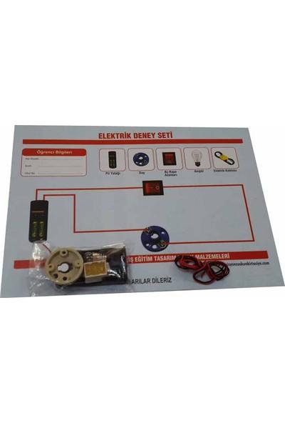 Misyon Elektrik Deney Seti Deney ve İş Eğitimi Malzemeleri