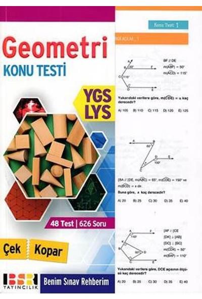 Bsr Ygs-Lys Geometri Konu Testi