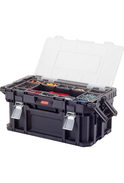 Keter 17203104 Connect Cantilever Toolbox Takım Çantası