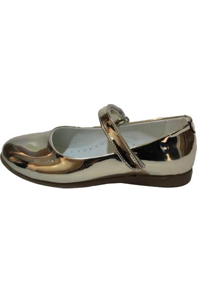 Papşin 271-2053 Gold Atkılı Kız Çocuk Ayakkabısı