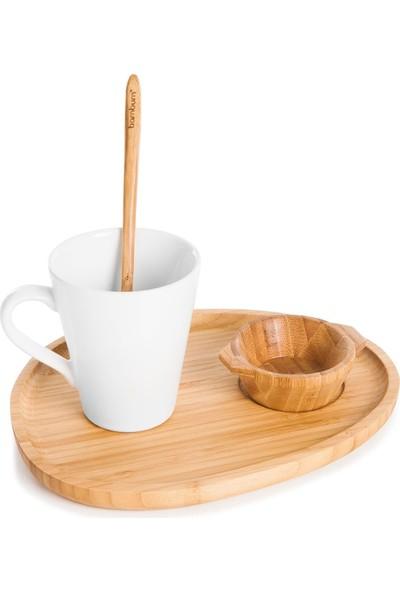 Bambum Cofiritti 4 Parça Kahve Seti B2789