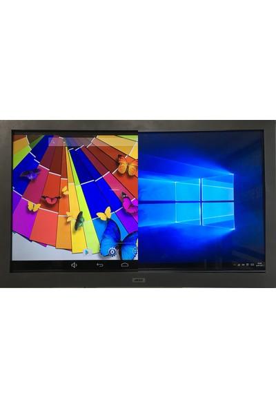 """Jedi AK76546 Intel Atom D525 2GB 64GB SSD Windows 10 Pro 55"""" FHD Akıllı Tahta"""