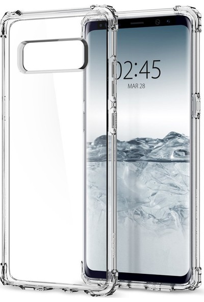 Spigen Samsung Galaxy Note 8 Kılıf Crystal Shell Clear - 587CS21839