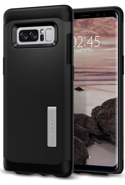 Spigen Samsung Galaxy Note 8 Kılıf Slim Armor Black - 587CS21835