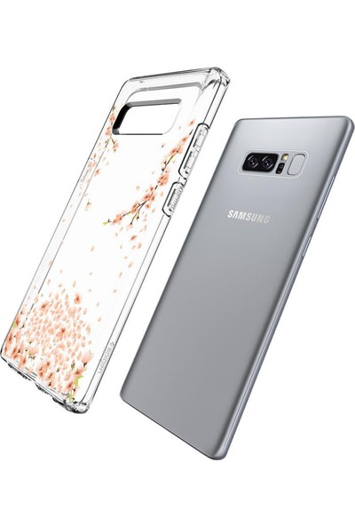 Spigen Samsung Galaxy Note 8 Kılıf Liquid Crystal Shine Blossom - 587CS22058