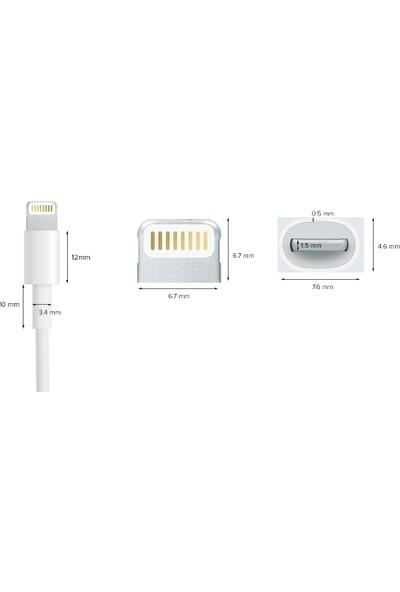 Mytell Apple iPhone 5/5S/Se/6/6S/7 / Plus / İpod / İpad Lightning Usb Data Ve Şarj Kablosu