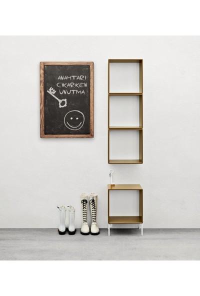 Plattocw Dekoratif Kara Tahta Yazı Tahtası Tebeşir Tahtası 60 x 40 cm
