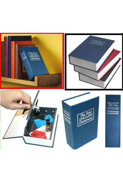0TR Kitap Görünümlü Metal Kasa