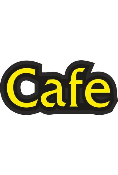 Yd Cafe Led-10 Tabela - Ledli Cafe Yazısı