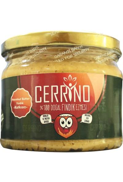 Cerrino %100 Doğal Şekersiz Katkısız Çifte Kavrulmuş Fındık Ezmesi 300Gr