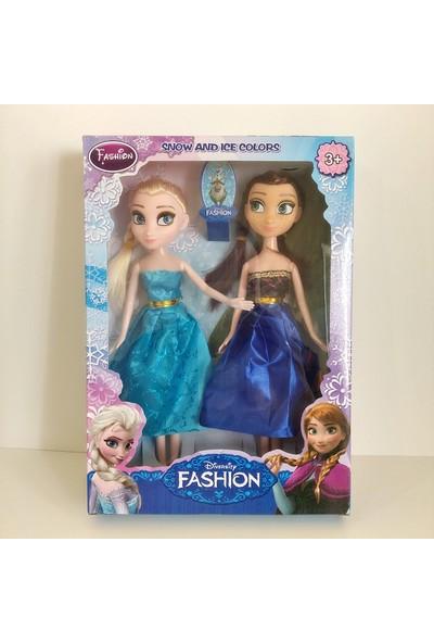 Hdm Frozen Elsa Anna Karlar Kraliçesi Oyuncak 2 Adet