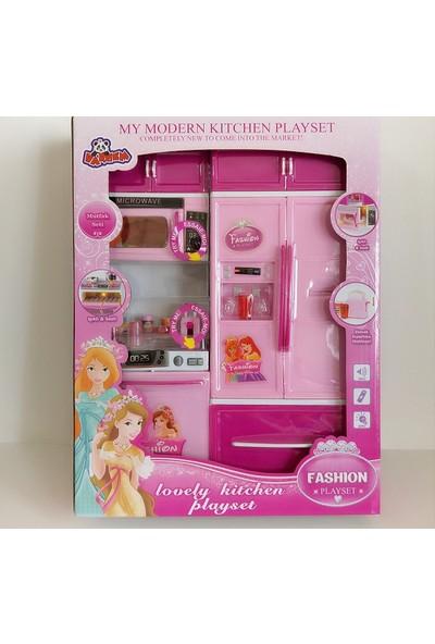 Hdm Mutfak Seti Oyuncak Fırın Çay Seti Buzdolabı