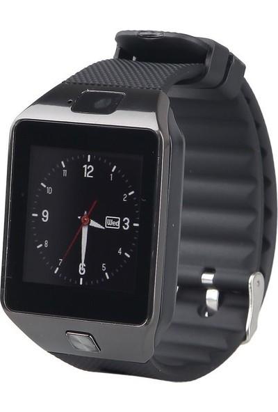 Elegante Negro Turuncuonline Zarif Siyah Akıllı Saat Bluetooth