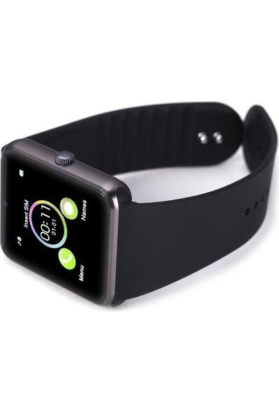 OEM Elegante Negro Turuncuonline Zarif Siyah Akıllı Saat Bluetooth
