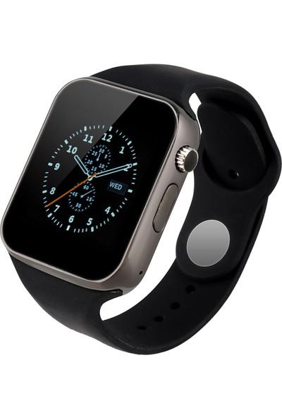 OEM Elegante Negro Turuncu Online Zarif Siyah Akıllı Saat Bluetooth