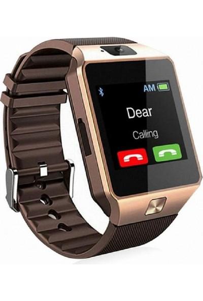 Elegante Oro Turuncuonline Zarif Gold Akıllı Saat Bluetooth