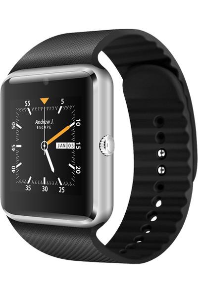 Smartwatch Elegante Plata Watches Turuncu Online Zarif Gümüş Akıllı Saat Bluetooth