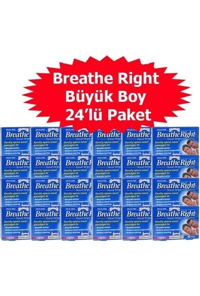 Breathe Right Klasik Burun Bandı Büyük Boy 24'Lü Paket