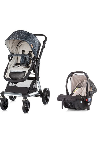 Chipolino Travel Set Bebek Arabası Fusion Beige