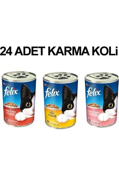 Felix Karışık Kedi Konservesi 400 Gr X 24 Adet