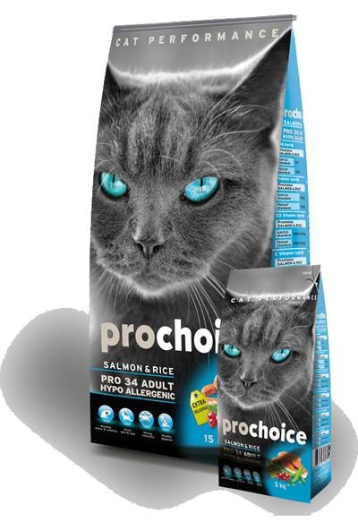 Pro Choice Somon Ve Pirinçli Kedi Maması 15 Kg