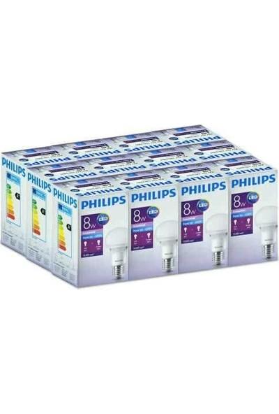 Philips Essential Led Lamba 8 48W E27 Beyaz 12 Adet