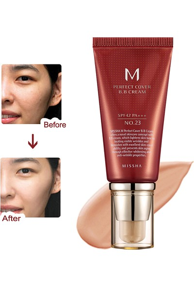 Missha M Perfect Cover BB Cream SPF42 (No.23/Natural Beige) 50ml